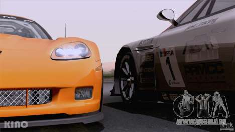 Aston Martin Racing DBRS9 GT3 für GTA San Andreas Motor