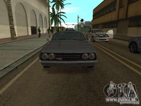 Sabre de GTA 4 pour GTA San Andreas