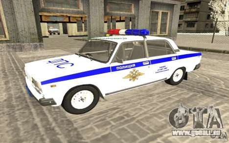 VAZ 2107 DPS Police Car für GTA San Andreas