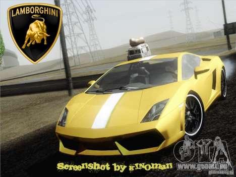 Lamborghini Gallardo LP640 Vallentino Balboni pour GTA San Andreas