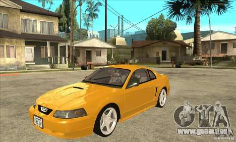 Ford Mustang GT 1999 - Stock für GTA San Andreas