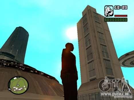Maison 4 cadets du jeu Star Wars pour GTA San Andreas quatrième écran
