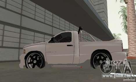 Dodge Ram SRT-10 Tuning für GTA San Andreas rechten Ansicht