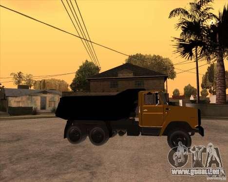 ZIL MMZ 4516 pour GTA San Andreas vue de droite