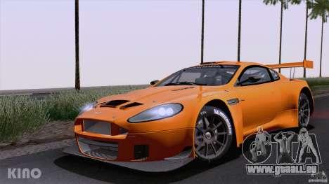 Aston Martin Racing DBRS9 GT3 für GTA San Andreas zurück linke Ansicht