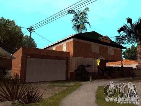 CJ's Haus in russischer Sprache für GTA San Andreas zweiten Screenshot