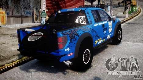 Ford F150 Racing Raptor XT 2011 pour GTA 4 est un côté