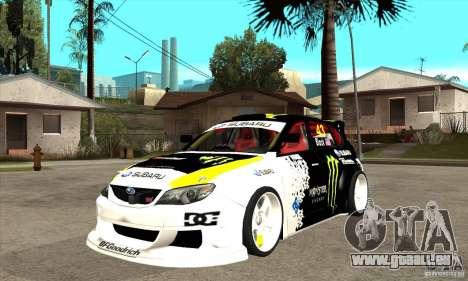 Subaru Impreza 2009 (Ken Block) für GTA San Andreas