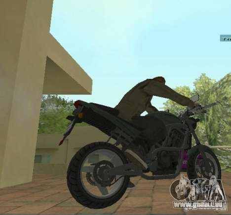 PCJ-600 in GTA IV für GTA San Andreas zurück linke Ansicht