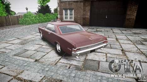 Pontiac GTO 1965 für GTA 4 Seitenansicht