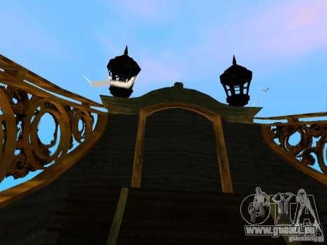 Queen Annes Revenge pour GTA San Andreas vue intérieure