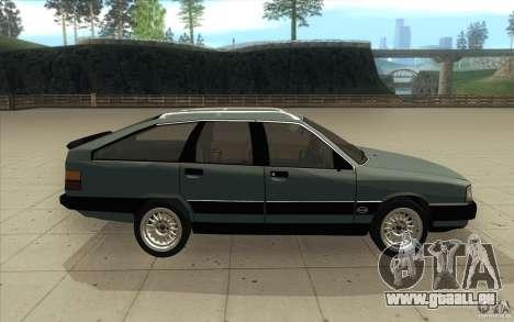 Audi 100 Avant Quattro pour GTA San Andreas vue intérieure