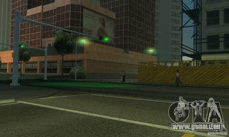 Lampes de couleur néon pour GTA San Andreas sixième écran