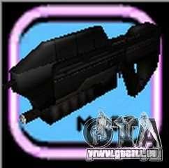 MA5B-Sturmgewehr beta v.1.0 für GTA Vice City fünften Screenshot