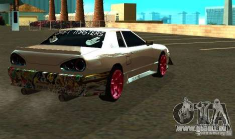 Elegy Drift Masters Final für GTA San Andreas Rückansicht