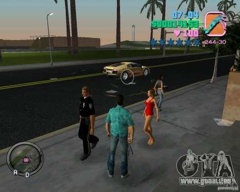 Neue Kleidung Bullen für GTA Vice City achten Screenshot