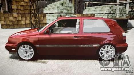 Volkswagen Golf MK3 GTI pour GTA 4 est une gauche