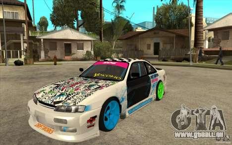 Nissan Silvia S14 Drift Bomb für GTA San Andreas