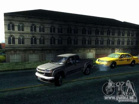 Chevrolet Colorado 2003 pour GTA San Andreas sur la vue arrière gauche