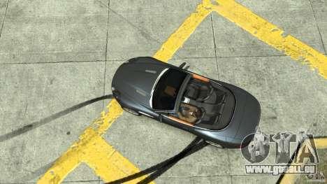 Aston Martin Volante DB9 für GTA 4 rechte Ansicht