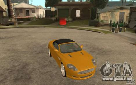 Aston Martin DB9 Volante pour GTA San Andreas vue arrière