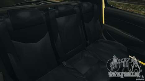 Peugeot 308 GTi 2011 Taxi v1.1 pour GTA 4 est un côté