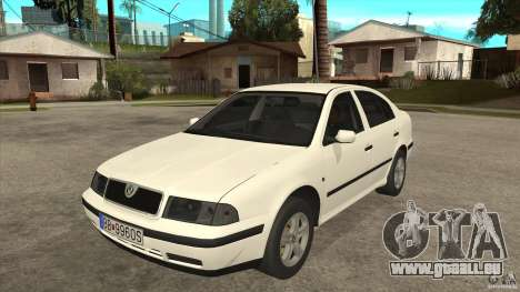 Skoda Octavia 1997 pour GTA San Andreas