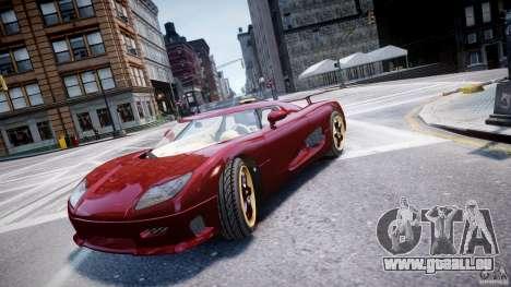 Koenigsegg CCRT pour GTA 4
