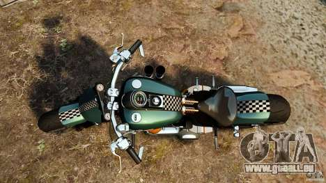 Harley Davidson Fat Boy Lo Racing Bobber für GTA 4 rechte Ansicht