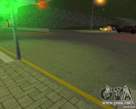 Construction de nouvelles routes à San Fierro pour GTA San Andreas cinquième écran