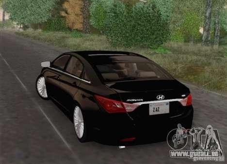 Hyundai Sonata 2012 für GTA San Andreas obere Ansicht