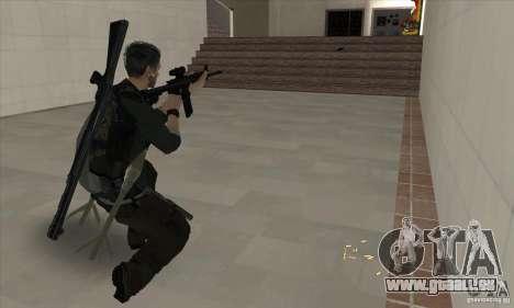 Sam Fisher pour GTA San Andreas cinquième écran
