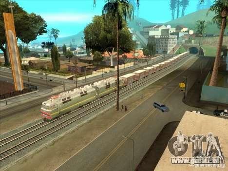 Wagons pour GTA San Andreas laissé vue