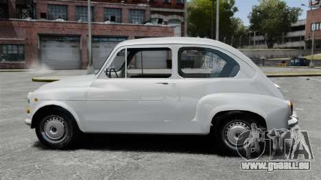 Zastava 750 pour GTA 4 est une gauche