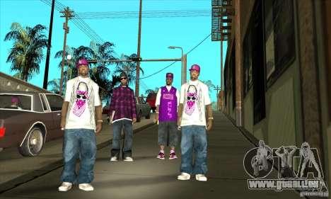 Remplacer toutes les apparences d'East Side Ball pour GTA San Andreas