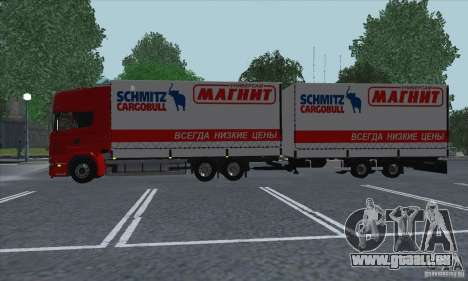 Scania R620 aimant pour GTA San Andreas