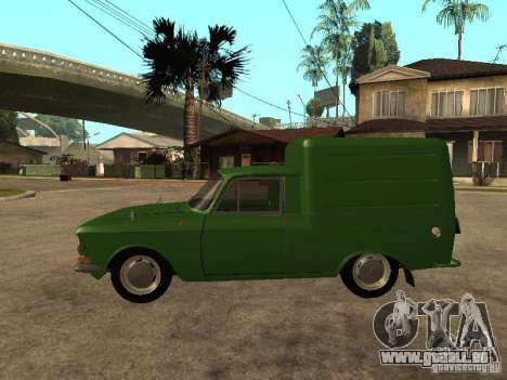 Première version IZH 2715 pour GTA San Andreas laissé vue