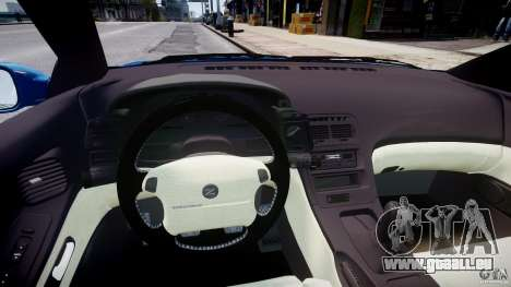 Nissan 300 ZX 1994 v1.0 für GTA 4 Rückansicht