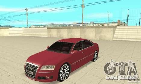 Audi A8L 4.2 FSI pour GTA San Andreas
