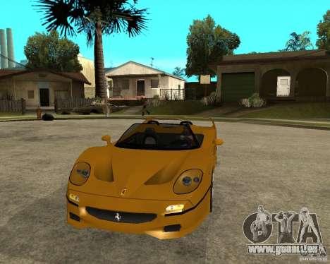 Ferrari F50 pour GTA San Andreas vue arrière