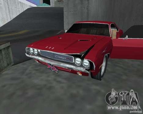 Dodge Challenger V1.0 pour GTA San Andreas vue arrière