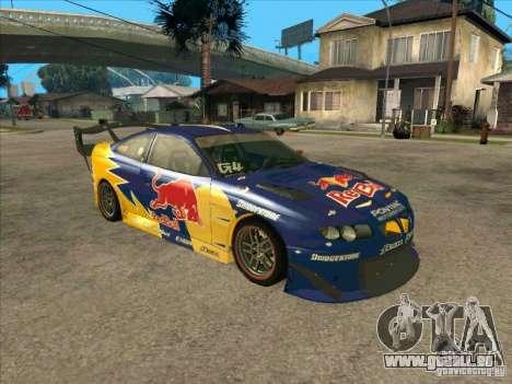 Pontiac GTO Red Bull pour GTA San Andreas laissé vue