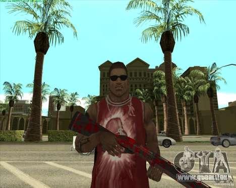 Blood Weapons Pack pour GTA San Andreas douzième écran