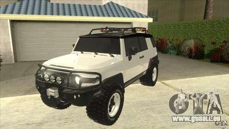 Toyota FJ Cruiser pour GTA San Andreas