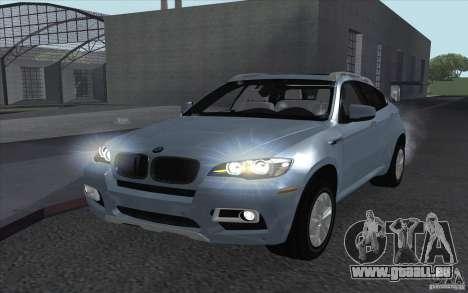 BMW X6M 2013 pour GTA San Andreas