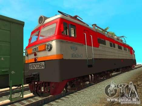 Vl60k 2364 RZD für GTA San Andreas zurück linke Ansicht