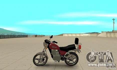 Suzuki Intruder 125cc für GTA San Andreas linke Ansicht