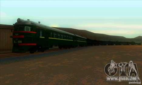 ÈR2H-999 pour GTA San Andreas laissé vue