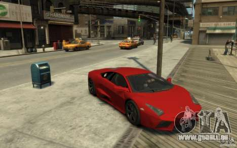 Lamborghini Reventon Coupe pour GTA 4 Vue arrière
