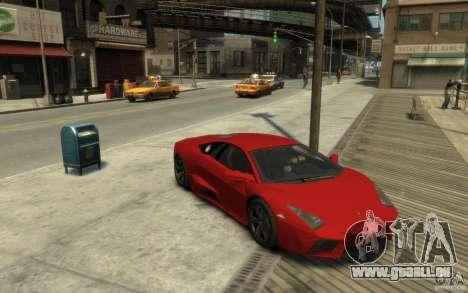 Lamborghini Reventon Coupe für GTA 4 Rückansicht